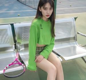 梦丝女神 - 019香萱 网球少女高清写真集[57P/382M]