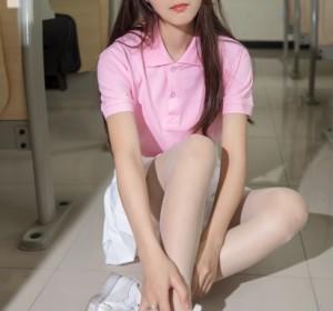 梦丝女神 - 020小兔 校园黑丝和白丝的可爱高清写真集[87P/501M]
