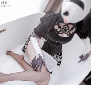 福利姬小鸟酱 - 星奈奈cosplay系列1 2B小姐姐高清视图[58P+1V/396M]