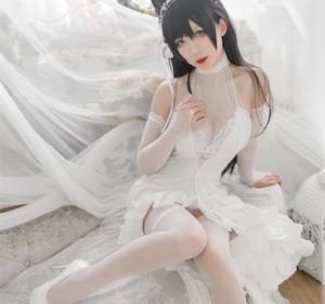 樱落酱w - 爱宕花嫁高清写真集[19P/92M]