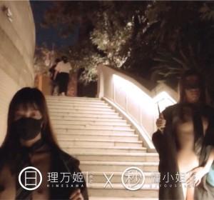 推特网红理万姬x懂小姐 - 深夜游行视频[1V/384M]