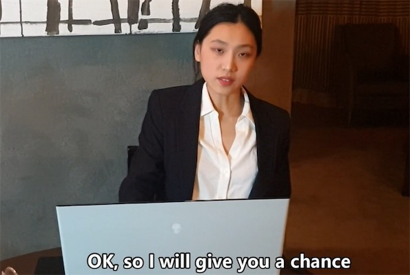 June Liu – Chinese manager punishes her employee for being late  [JL_061]高清视频[1V/1G]
